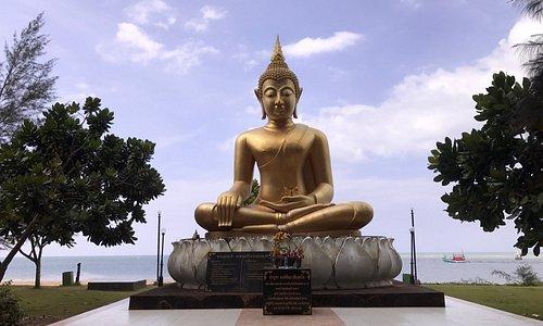 Buddha in der Gedenkstätte