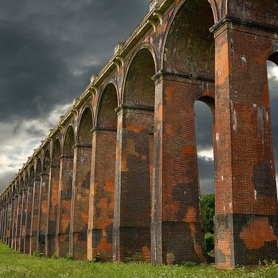 Ouse Valley Train Viaduct. Just south of Ardingly reservoir.