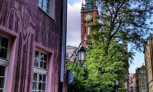 Gdansk. Old Town. Main Town Hall