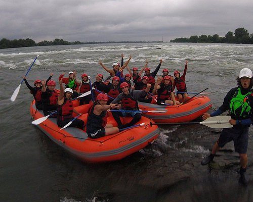 Business parties are a must! On the Lachine rapids of Montreal get your team building started!