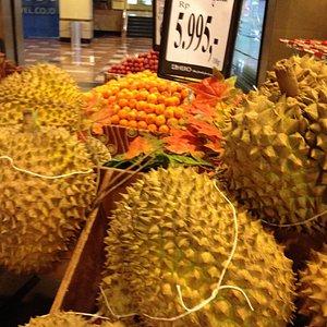 Fresh fruit at Carrefour supermarket