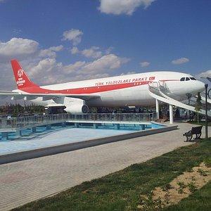 uçak restoran, Türk Yıldızları Parkı, Konya-28.08.2016
