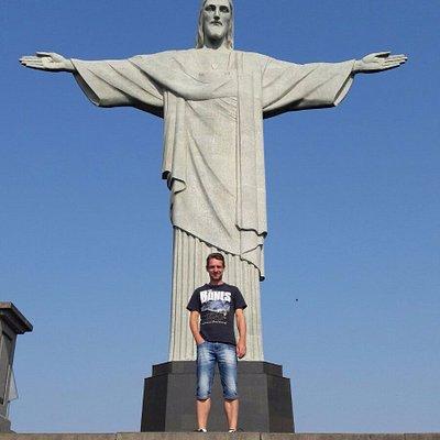 Christus und ich, wer ähnliche Fotos möchte, sollte sich meinen Touren anschliessen.