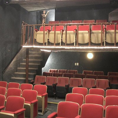 A cozy cabaret theater, Shelter has only great seats!