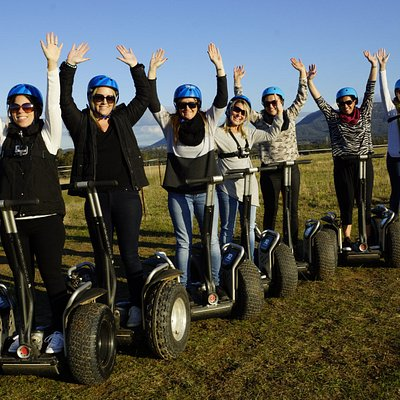 Segways smiles!