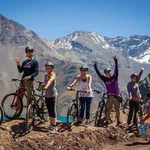 Bike Tours Embalse del Yeso Santiago de Chile.We start our journey from your Hotel to get into t