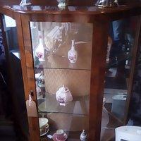 Unusual Edwardian Display cabinet