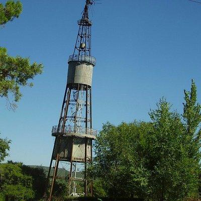 La torre que segun la leyenda es un diseño de Gustave Eiffel
