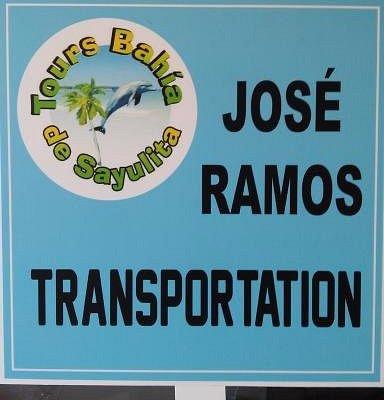 the sign of JOSE RAMOS