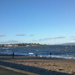 Ballyholme Beach, Bangor, 01/01/17