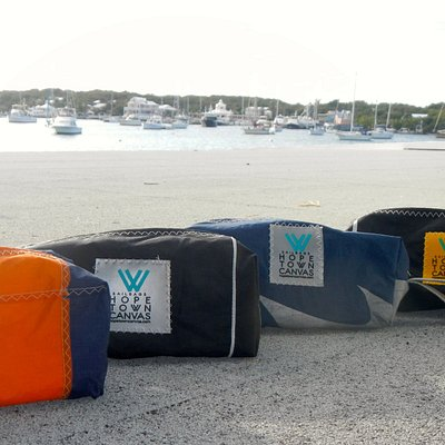 One of a kind Sail bags