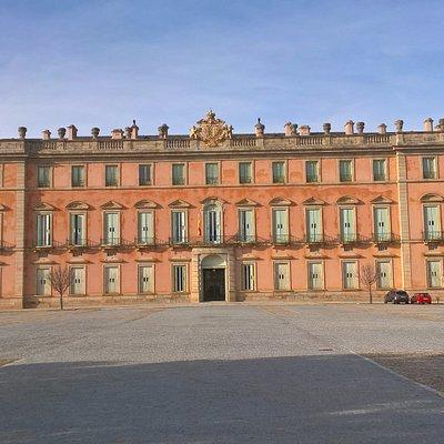 Fachada Principal (entrada desde Madrid) del Palacio