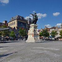 Памятник Якобу ван Артевельде, Гент
