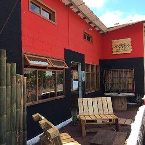Our building in Puerto Ayora