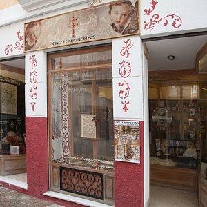 Un pequeño museo específico de la Cruz de Caravaca, donde el visitante podrá conocer la historia