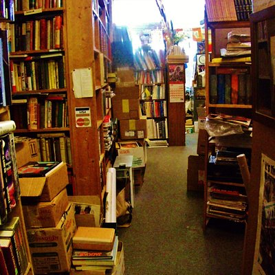 the general look and feel inside the bookstore
