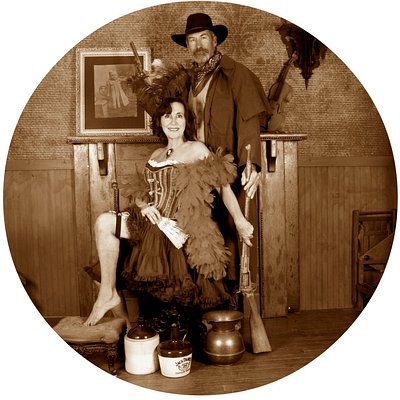 Step back into the wild west to the days of true gentleman and lovely ladies!
