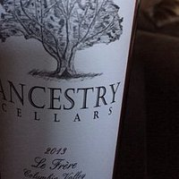 Label for Ancestry Wine