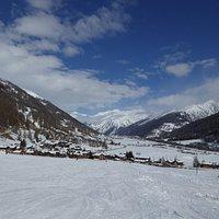 Skigebiet Münster-Geschinen im Obergoms / Wallis