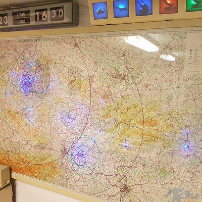 Map over Prague