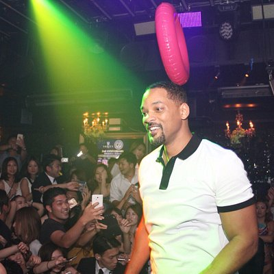 Guest Appearance by Will Smith at Vanity Osaka!