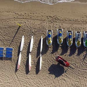AWS Fleet ready to charge the WATER.....