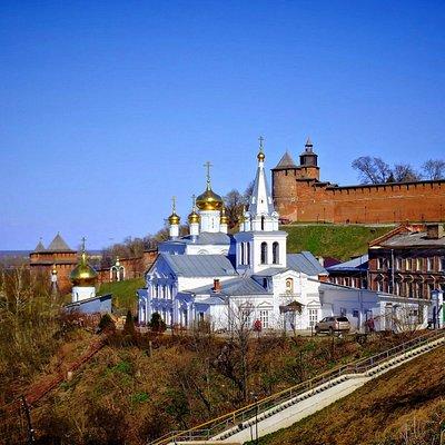 A View from Fedorovsky Enbankment, Nizhny Novgorod