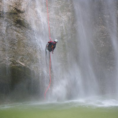 Canyoning Italien