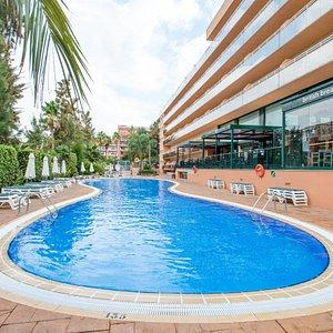 The Pool at the Aparthotel SunClub Salou