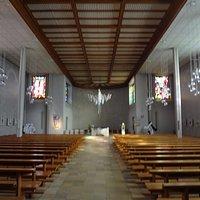 Eglise de Courtételle (nef centrale)