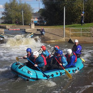 Rafting trips and days on the beautiful Nene river.
