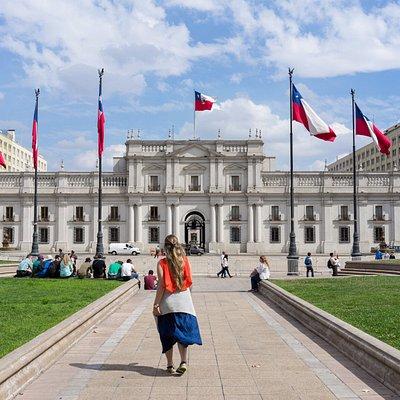 La Moneda - Chilean Presidential Building