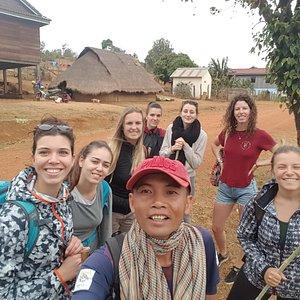 Two days jungle trekking and Elephant adventure tour in Mondulkiri province. www.mondulkiriecot