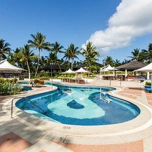 The Pool at the Warwick Le Lagon - Vanuatu