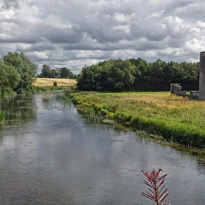 River Boyne and Priory of St John The Baptist, Trim