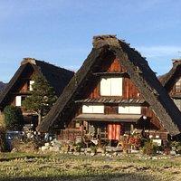 白川郷を象徴する家