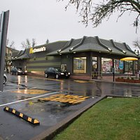 Outside of the McMinnville McDonald's Building