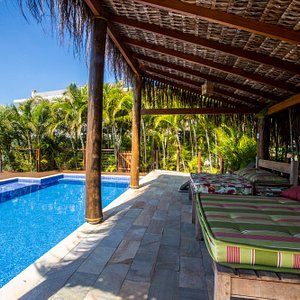 Piscina da Pousada Vila Tamarindo Eco Lodge