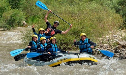 Rafting familial sur le Verdon