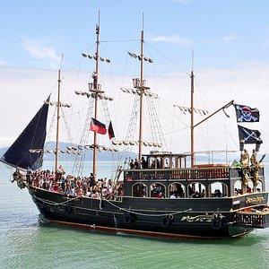 Pérola Negra, o verdadeiro pirata do Caribe!
