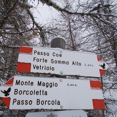 Sentiero Monte Maggio