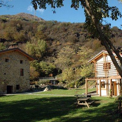 Parco Seradina-Bedolina: area pic nic e cascina didattica