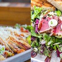 Chicken Caesar or Bun's famous Tuna salad?