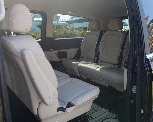 Mercedes V Class back seats