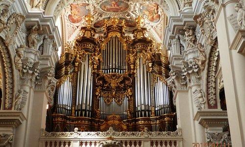 Орган в Соборе, крупнейший в Европе