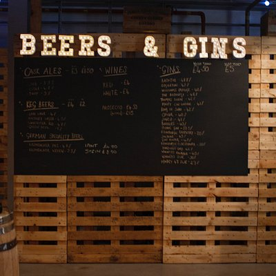 Beer & Gin List