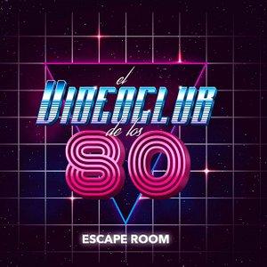 """Logo del primer juego de escape ambientado en los años 80 """"El Videoclub de los 80"""""""