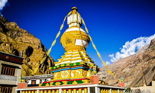 The Stupa near the New Tabo Monastery Complex