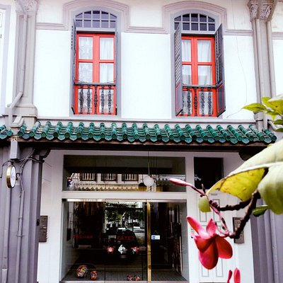 A gorgeous shophouse frontage