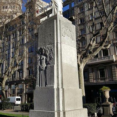Monument to Joan Güell i Ferrer